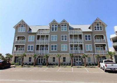 Port Aransas Condo/Townhouse For Sale: 160 Social Circ #2-302