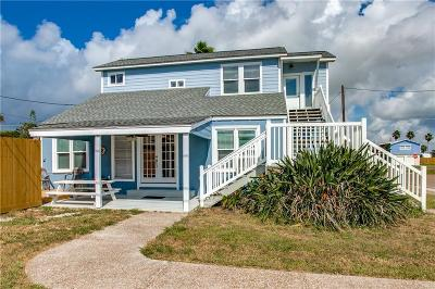 Port Aransas Single Family Home For Sale: 410 E Avenue E