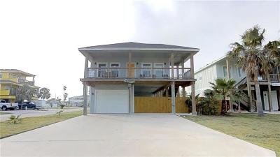 Port Aransas Single Family Home For Sale: 623 Pez Vela