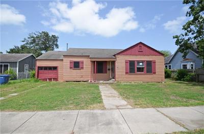 Corpus Christi Single Family Home For Sale: 2844 S Alameda St