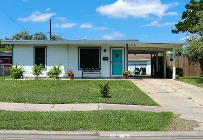 Corpus Christi TX Single Family Home For Sale: $124,000