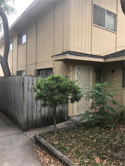 Corpus Christi TX Condo/Townhouse For Sale: $72,000