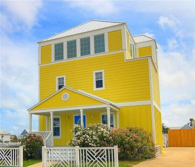 Port Aransas TX Single Family Home For Sale: $549,000