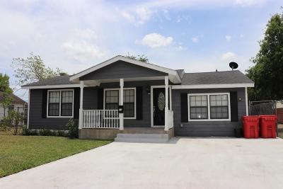 Single Family Home For Sale: 110 W Avenue F