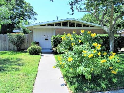 Single Family Home For Sale: 927 Grant Pl