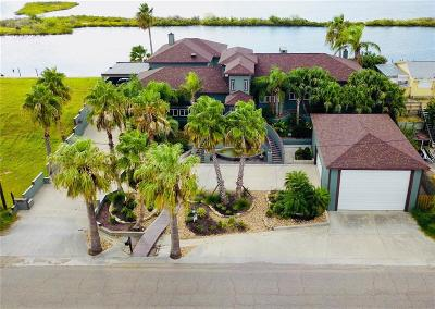 Aransas Pass Single Family Home For Sale: 807 S Bay St