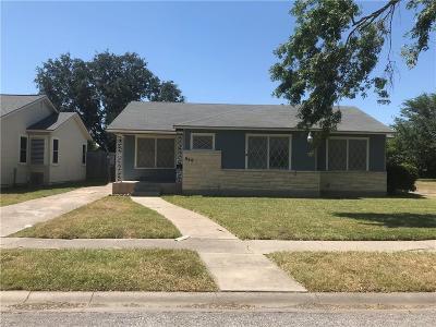 Corpus Christi TX Single Family Home For Sale: $130,000