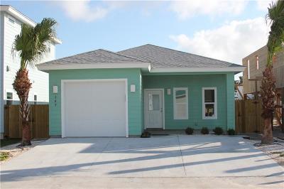 Port Aransas TX Single Family Home For Sale: $259,000