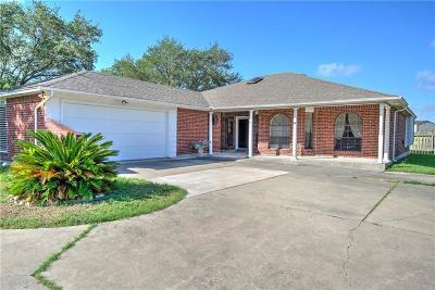 Corpus Christi TX Single Family Home For Sale: $150,000