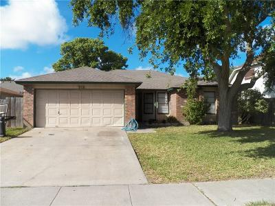 Corpus Christi TX Single Family Home For Sale: $127,900