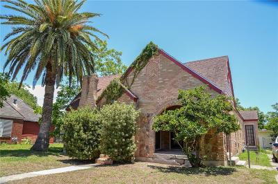 Corpus Christi TX Single Family Home For Sale: $165,000