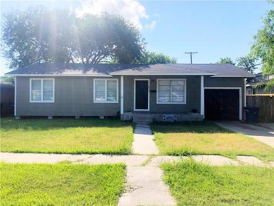 Corpus Christi TX Single Family Home For Sale: $109,900