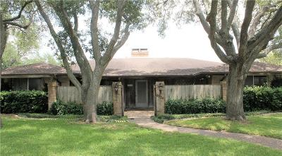 Corpus Christi Single Family Home For Sale: 6334 St. Andrews Dr