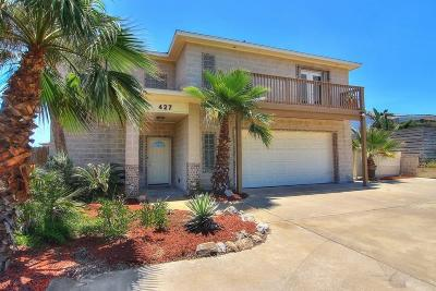 Port Aransas Single Family Home For Sale: 427 S 12th St