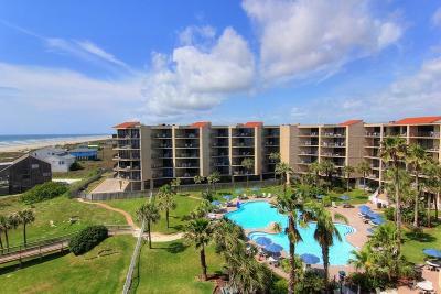 Port Aransas Condo/Townhouse For Sale: 800 Sandcastle Dr #509