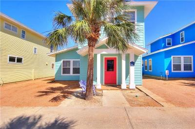 Port Aransas Condo/Townhouse For Sale: 2606 S 11th St #23