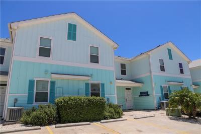 Corpus Christi Condo/Townhouse For Sale: 15106 Dory Dr #15106