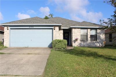 Ingleside Single Family Home For Sale: 2590 Raintree
