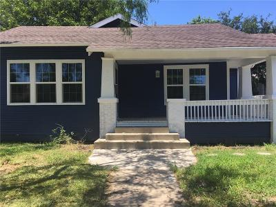 Single Family Home For Sale: 320 Ohio Ave