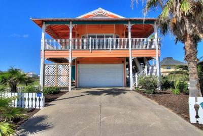 Port Aransas Single Family Home For Sale: 186 Beachwalk Lane