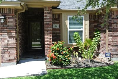 Corpus Christi Condo/Townhouse For Sale: 4750 Grand Junction Dr #19