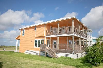 Port Aransas Single Family Home For Sale: 525 Paradise