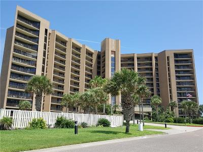 Port Aransas Condo/Townhouse For Sale: 6745 Seacomber Dr #803