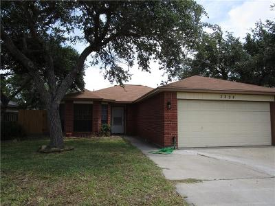 Ingleside Single Family Home For Sale: 2204 Spring Park Dr