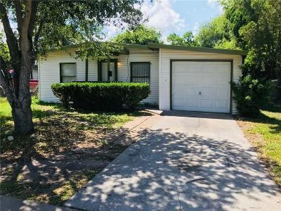 Corpus Christi Single Family Home For Sale: 4613 Nicholson St