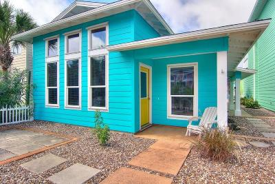 Port Aransas Single Family Home For Sale: 2525 S 11th St #10