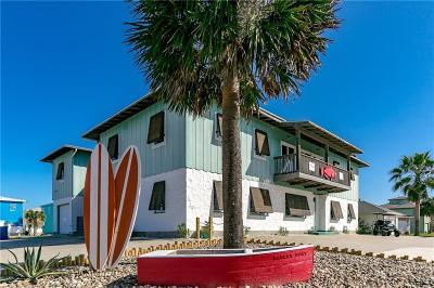 Port Aransas Single Family Home For Sale: 3425 S 11th St
