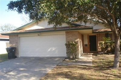 Corpus Christi Single Family Home For Sale: 1726 Sun Beam Dr