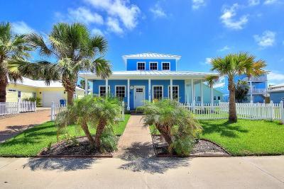 Port Aransas Single Family Home For Sale: 128 Royal Sands