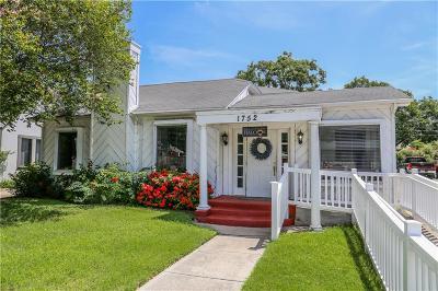 Single Family Home For Sale: 1752 Santa Fe St