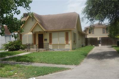 Corpus Christi TX Single Family Home For Sale: $125,000