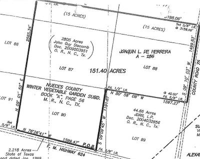 Robstown Residential Lots & Land For Sale: Fm Road 624