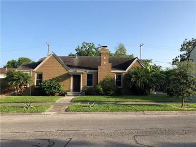 Corpus Christi TX Single Family Home For Sale: $189,000