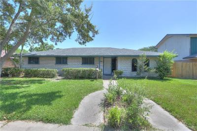 Corpus Christi TX Single Family Home For Sale: $184,950