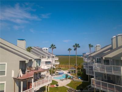 Port Aransas Condo/Townhouse For Sale: 6275 State Highway 361 #208