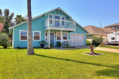Single Family Home For Sale: 519 Aransas Channel