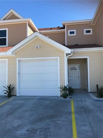 Port Aransas Condo/Townhouse For Sale: 1813 S Eleventh St #503