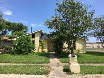 Corpus Christi TX Single Family Home For Sale: $128,200