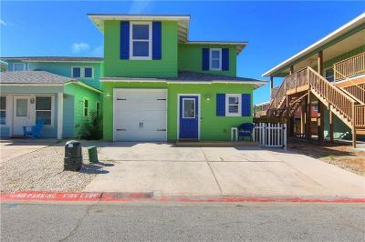 Port Aransas Single Family Home For Sale: 2525 S 11th St #1
