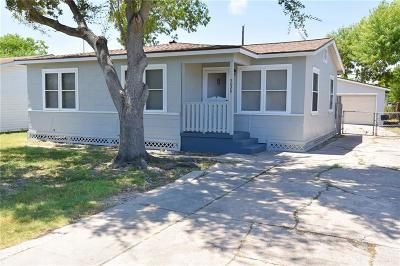 Corpus Christi TX Single Family Home For Sale: $119,500