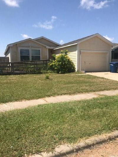 Corpus Christi TX Single Family Home For Sale: $159,900