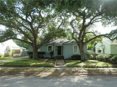 Corpus Christi TX Single Family Home For Sale: $165,000