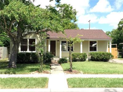 Corpus Christi TX Single Family Home For Sale: $140,000