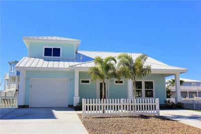 Port Aransas TX Single Family Home For Sale: $535,000