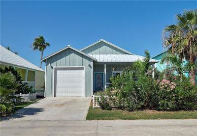 Port Aransas Single Family Home For Sale: 121 Beachwalk