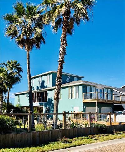 Port Aransas TX Single Family Home For Sale: $639,900